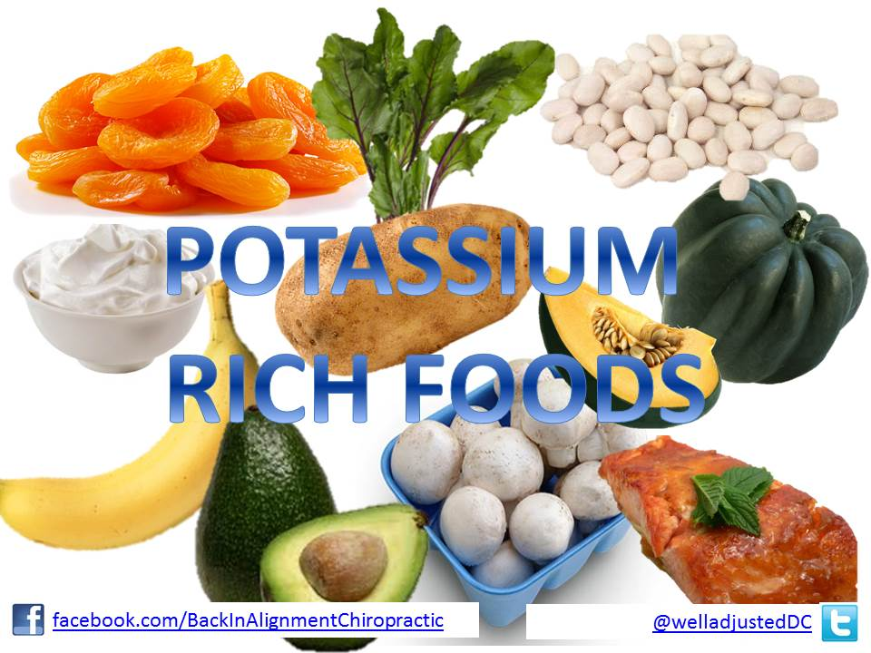 List Of Food Low In Potassium Content